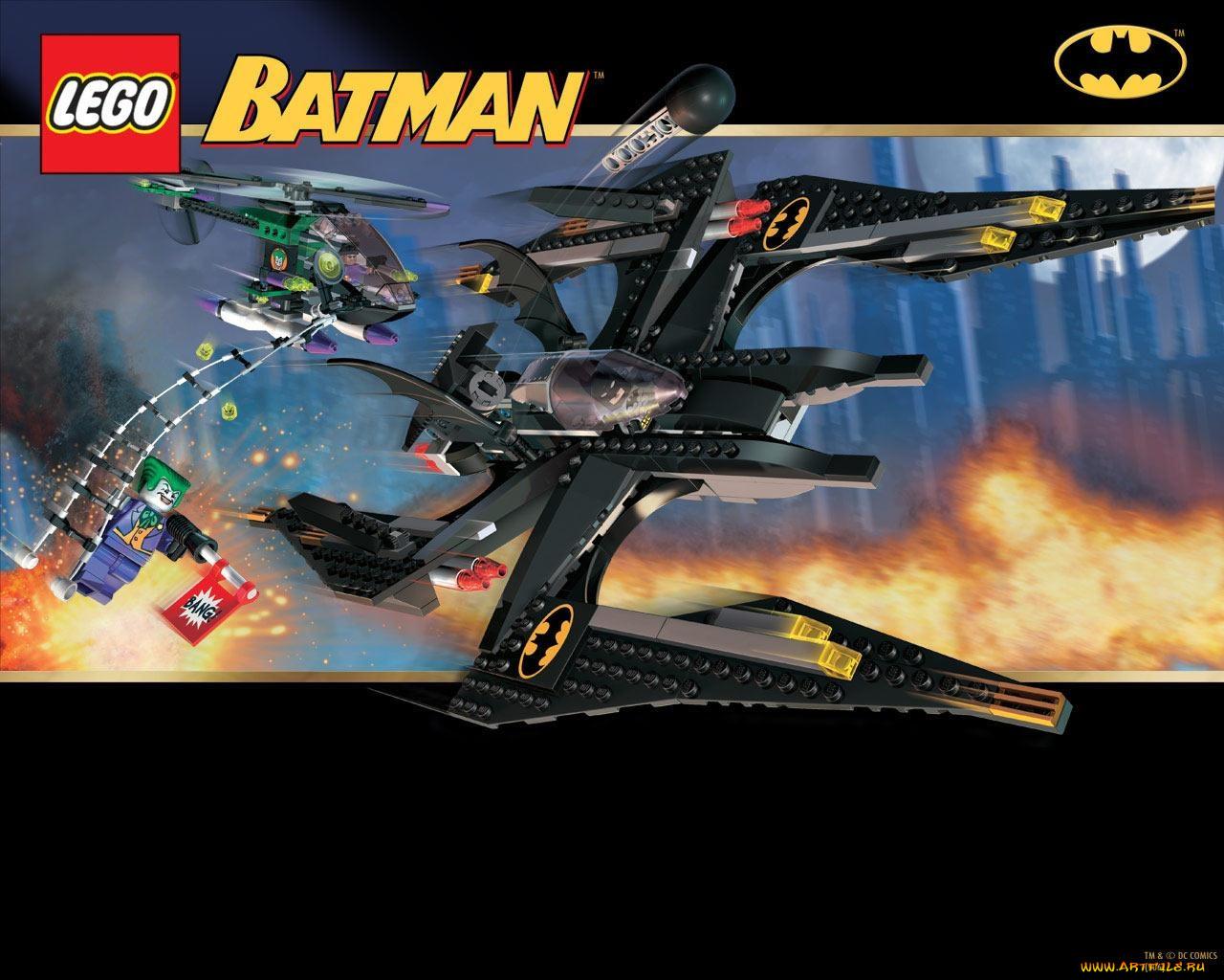 Игры lego batman the video game обои для рабочего